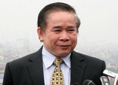 Thứ trưởng Bộ GD-ĐT Bùi Văn Ga.