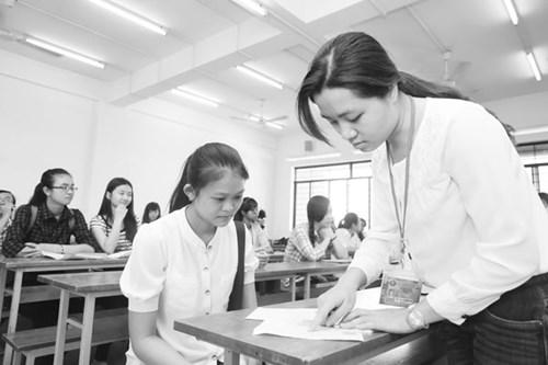 Phần lớn những trường ĐH lớn sử dụng kết quả thi THPT quốc gia môn tiếng Anh để xét tuyển  - Ảnh: Đào Ngọc Thạch