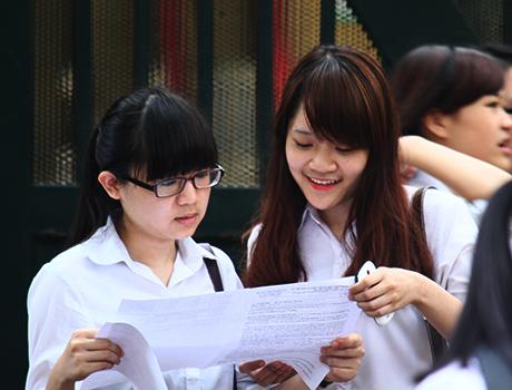 Bộ Giáo dục công bố điểm chuẩn, điểm thi THPT Quốc gia 2015